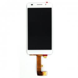 Ecran Blanc avec vitre et LCD pour Huawei Honor 6 photo 4