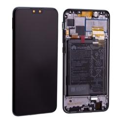 Bloc écran complet pré-monté sur châssis + batterie pour Huawei Y9 (2019) Noir photo 2