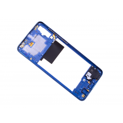 Châssis Intermédiaire pour Samsung Galaxy A70 Bleu