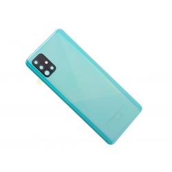 Vitre arrière pour Samsung Galaxy A51 Bleu Prismatique