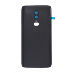 Vitre arrière d'origine pour OnePlus 6 Noir Midnight Black