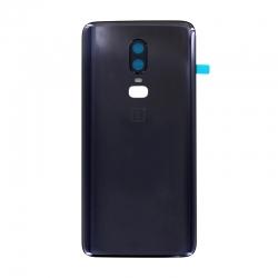 Vitre arrière d'origine pour OnePlus 6 Noir Mirror Black