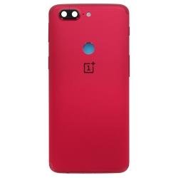 Coque arrière Rouge d'origine pour OnePlus 5T photo 2