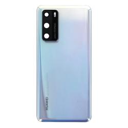 Vitre arrière pour Huawei P40 Blanc