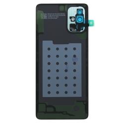 Vitre arrière pour Samsung Galaxy A71 Argent Prismatique photo 1