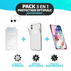 Pack Essentiel de Protection 3-en-1 pour OnePlus 5T - Étui étanche, film Hydrogel et coque Minigel photo 5