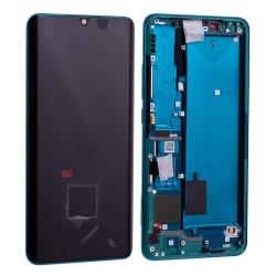 Bloc écran Amoled et vitre pré-montés sur châssis pour Xiaomi Mi Note 10 Vert