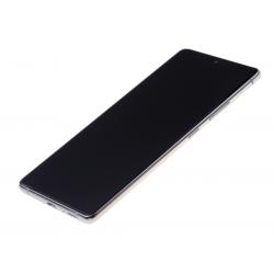 Bloc écran Super Amoled Plus pré-monté sur châssis pour Samsung Galaxy S10 Lite Blanc photo 1