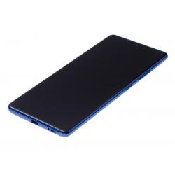 Bloc écran Super Amoled Plus pré-monté sur châssis pour Samsung Galaxy S10 Lite Bleu photo 1