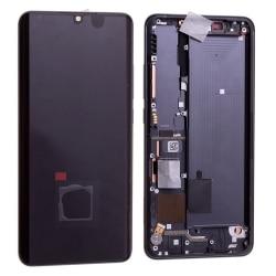 Bloc écran Amoled et vitre pré-montés sur châssis pour Xiaomi Mi Note 10 Lite Noir