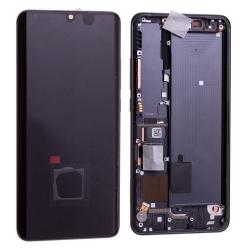 Bloc écran Amoled et vitre pré-montés sur châssis pour Xiaomi Mi Note 10 Lite Noir photo 2