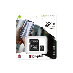 Carte mémoire microSDHC Classe 4 KINGSTON 32 Go