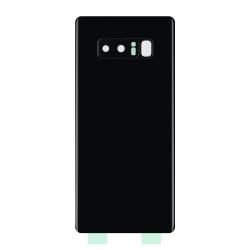 Vitre Arrière Compatible pour Samsung Galaxy Note 8 Noir