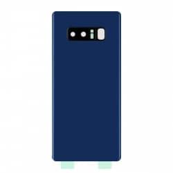 Vitre Arrière Compatible pour Samsung Galaxy Note 8 Bleu