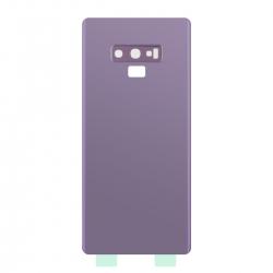 Vitre Arrière Compatible pour Samsung Galaxy Note 9 Mauve photo 3