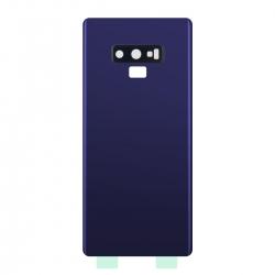 Vitre Arrière Compatible pour Samsung Galaxy Note 9 Bleu photo 3