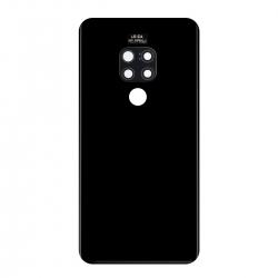 Vitre Arrière Compatible pour Huawei Mate 20 Noir