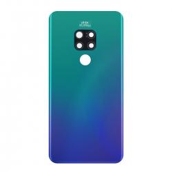 Vitre Arrière Compatible pour Huawei Mate 20 Aurora Blue