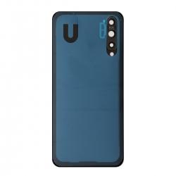 Vitre Arrière Compatible pour Huawei P20 Pro Bleu photo 1