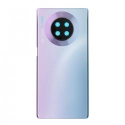 Vitre Arrière Compatible pour Huawei Mate 30 Pro Space Silver
