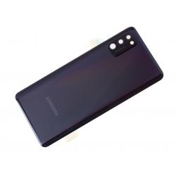 Vitre arrière pour Samsung Galaxy A41 Noir Prismatique photo 3