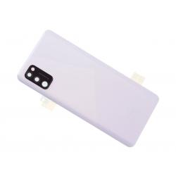 Vitre arrière pour Samsung Galaxy A41 Blanc Prismatique