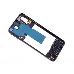 Châssis Intermédiaire pour Samsung Galaxy A40 Noir