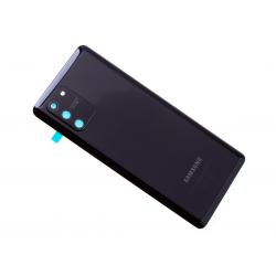 Vitre arrière pour Samsung Galaxy S10 Lite Noir photo 2