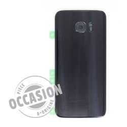 Vitre arrière Noire d'occasion pour Samsung Galaxy S7 Edge
