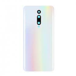 Vitre Arrière Compatible pour Xiaomi Mi 9T et Mi 9T Pro Blanc