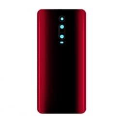 Vitre Arrière Compatible pour Xiaomi Mi 9T et Mi 9T Pro Rouge Flamme