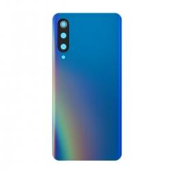Vitre Arrière Compatible pour Xiaomi Mi 9 Bleu photo 2
