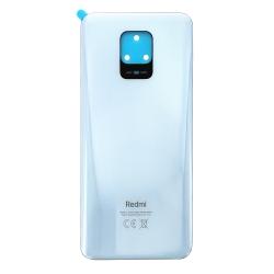 Vitre arrière pour Xiaomi Redmi Note 9S Blanc Glacier photo 2