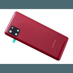 Vitre arrière pour Samsung Galaxy Note 10 Lite Rouge