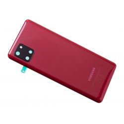 Vitre arrière pour Samsung Galaxy Note 10 Lite Rouge photo 3