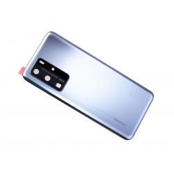 Vitre arrière pour Huawei P40 Pro Argent photo 3