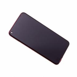 Bloc écran avec châssis et batterie Huawei Honor View 20 - Rouge photo 0