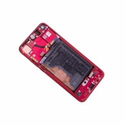 Bloc écran avec châssis et batterie Huawei Honor View 20 - Rouge photo 1