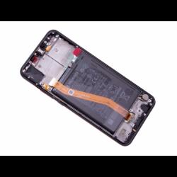 Bloc écran avec châssis et batterie Huawei Nova 3 - Noir photo 1