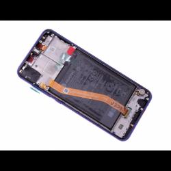 Bloc écran avec châssis et batterie Huawei Nova 3 - Violet photo 1