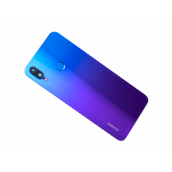 Vitre arrière avec logo pour Huawei P Smart Plus - Violet photo 0