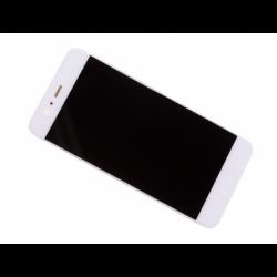 Bloc écran avec châssis et batterie Huawei P10 - Or, Blanc photo 0