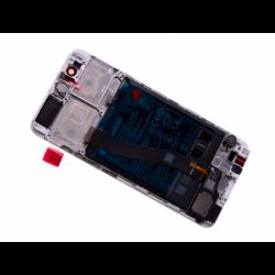 Bloc écran avec châssis et batterie Huawei P10 - Or, Blanc photo 1