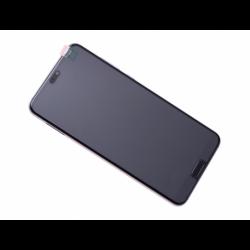 Bloc écran avec châssis et batterie Huawei P20 Pro - Twilight photo 0