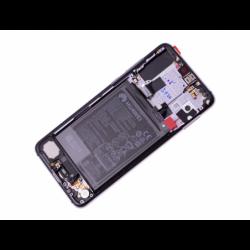 Bloc écran avec châssis et batterie Huawei P20 Pro - Twilight photo 1