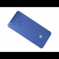 Vitre arrière avec logo pour Huawei P8 Lite (2017) (PRA-LX1), P9 Lite (2017) (PRA-LA1, PRA-LX2, PRA-LX1, PRA-LX3) - Bleu photo 0