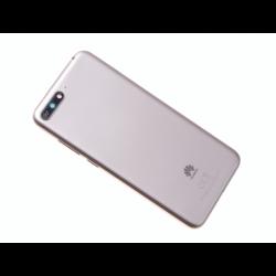 Vitre arrière avec logo pour Huawei Y6 2018 - Or photo 0
