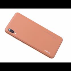Vitre arrière avec logo pour Huawei Y6 2019 - Marron photo 0