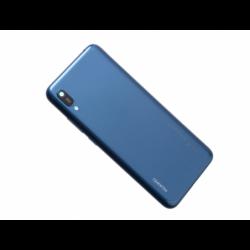 Vitre arrière avec logo pour Huawei Y6 2019 - Sapphire Bleu photo 0