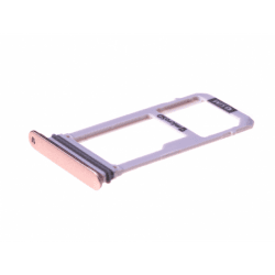 Tiroir SIM pour Samsung SM-A320 A3 2017 - Rose photo 0